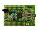 STM32F4-Discovery mit abwechselnd blinkenden LEDs